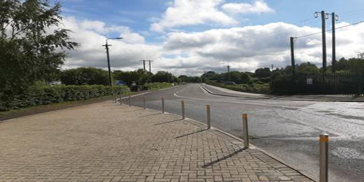 Enhancement Works  - Approach to Benamore Industrial Estate, Roscrea - Photo 1