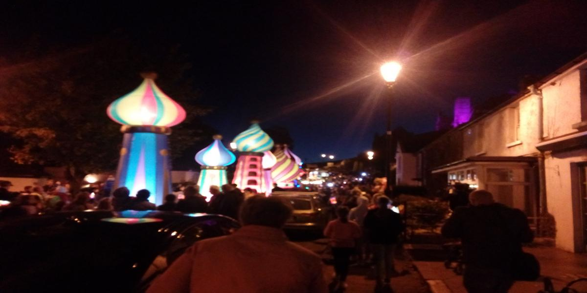 Parade of Light Cashel Arts Festival 2019