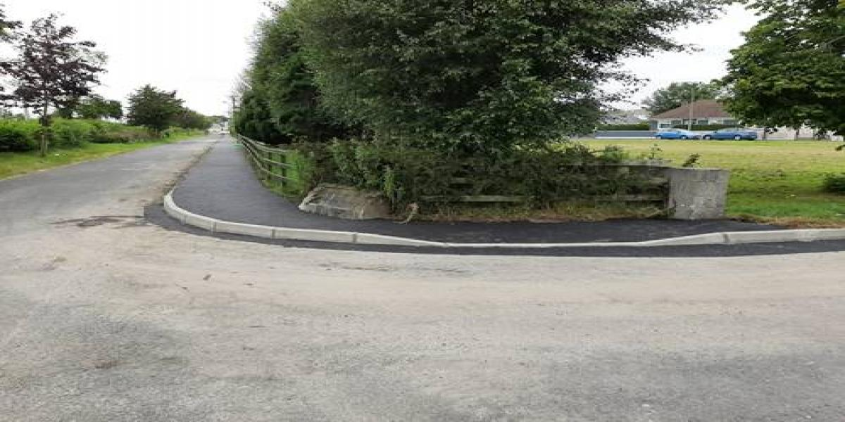 Replacement of footpath - St Kevin's Park, Littleton