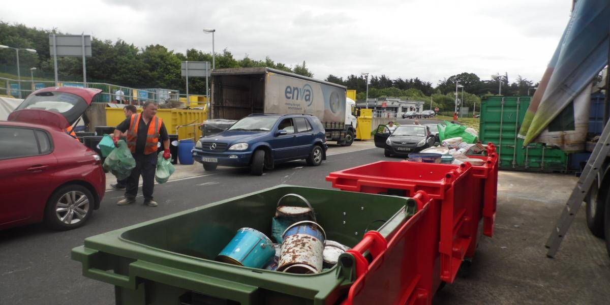 Tipperary Waste Awareness week Clonmel Recycling Centre
