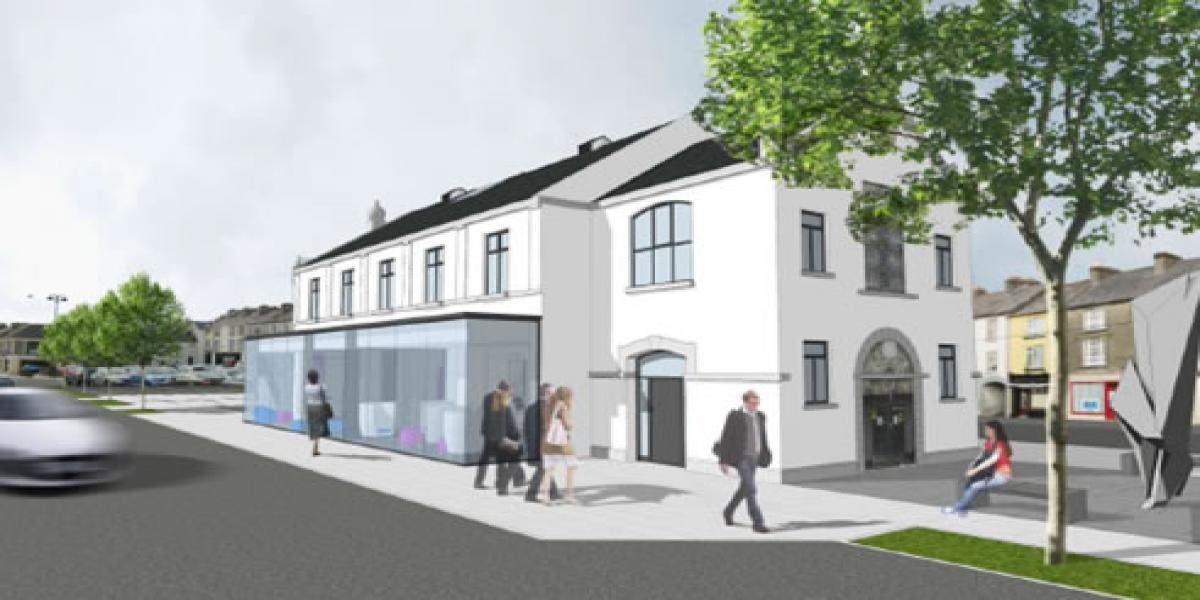 Templemore Town Hall: Phase 2 - Enterprise and Cultural Centre, with associated Civic Plaza